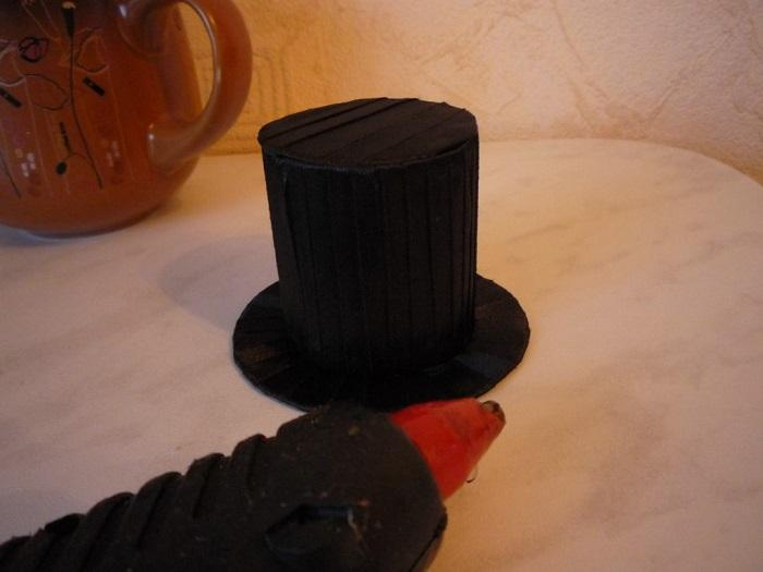 Шляпа топиария собрана