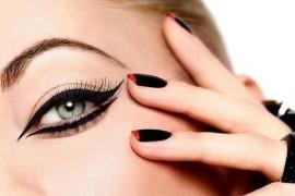 Как ровно нарисовать красивые стрелки на глазах