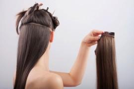 Какие бывают накладные волосы и как их крепить