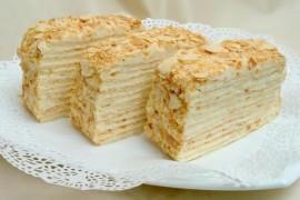 Приготовление торта Наполеон в домашних условиях
